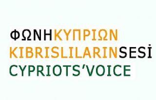 """İki toplumlu """"Kıbrıslıların sesi"""" grubu Kıbrıs..."""