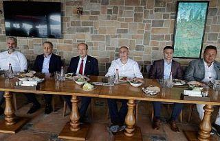 İstanbul Valisi Ali Yerlikaya, Cumhurbaşkanı Tatar...