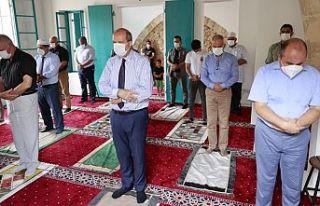 Kapalı Maraş'ta 47 yıl sonra ibadete açılan...