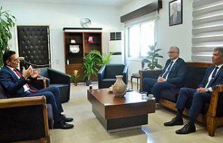 Maliye Bakanı Oğuz, Sivil Savunma Başkanları ile...