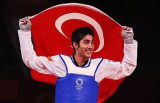 Olimpiyatlardaki ilk madalya Hakan Reçber'den...
