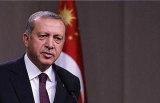 TC Cumhurbaşkanı Erdoğan orman yangınlarıyla...