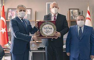 YÖDAK Başkanı Avcı, UÜK İcra Kurulu heyetini...