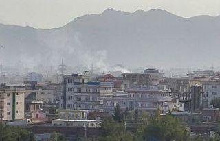 Afganistan'ın başkenti Kabil'de havalimanı...