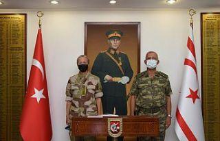 BM Barış Gücü Komutanı'nın GKK'yı ziyareti...