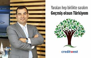 Creditwest Bank'tan Türkiye'deki yangın afeti...