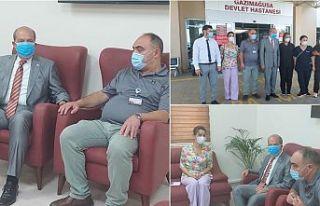 Cumhurbaşkanı Tatar Gazimağusa Devlet Hastanesi'ni...