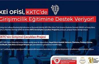 KEİ ofisi, KKTC'de girişimcilik eğitimine destek...