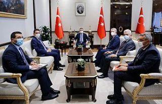 Maliye Bakanı Oğuz Ankara temaslarını tamamladı