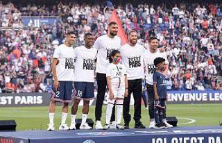 Paris'te büyük buluşma gerçekleşti