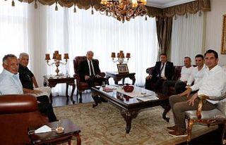 """Tatar: """"KKTC'nin ekonomik olarak güçlenmesi..."""