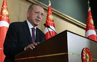 T.C Cumhurbaşkanı Erdoğan: Türkiye, Suriye veya...