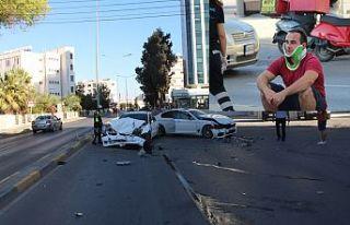 Trafik kazası değil,cinayete teşebbüs