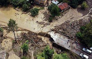 Türkiye'de meydana gelen sel felaketinde can kaybı...