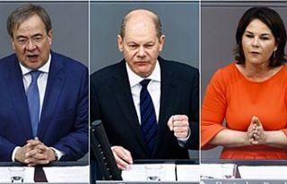 Almanya'da Başbakan adayları canlı yayında...