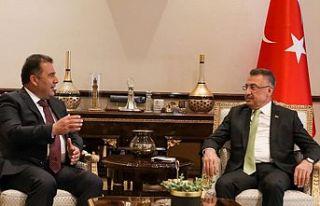 Basbakan Saner TC Cumhurbaskan Yardımcısı Oktay...