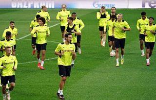 Borussia Dortmund, Beşiktaş maçının hazırlıklarını...