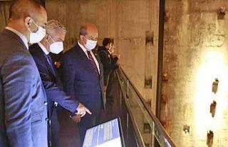 Cumhurbaşkanı Tatar, 11 Eylül Anıtı'nı ve...