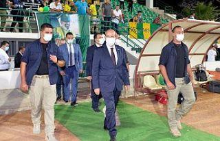 Cumhurbaşkanı Tatar, Ahmed Sami Topcan süper kupası...