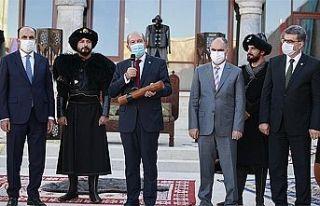 """Cumhurbaşkanı Tatar: """"Biz Osmanlı'nın torunlarıyız"""""""