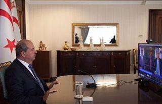 "Cumhurbaşkanı Tatar: ""Kıbrıs Türkü'nün..."