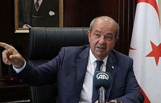 Cumhurbaşkanı Tatar, New York temasları öncesinde...