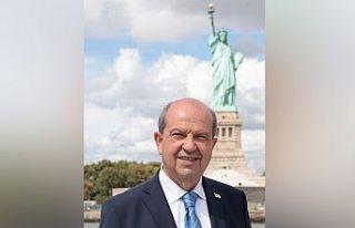 Cumhurbaşkanı Tatar'dan 'Özgürlük Anıtı'...