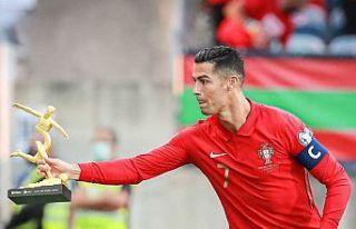 En fazla kazanan futbolcu Ronaldo