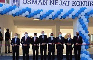 Girne'de Osman Nejat konuk ortaokulu açıldı