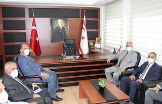 İçişleri Bakanı Kutlu Evren, Maks projesi kapsamında...