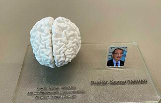 Türkiye'de 3D yazıcı ile insan beyninin birebir...