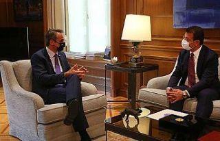 Yunanistan Başbakanı Miçotakis, İBB Başkanı...