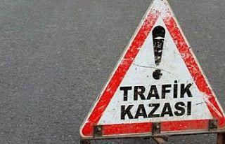 Alkollü araç sürücüsü bisikletliye çarptı:...