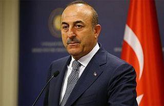 """Çavuşoğlu: """"Haklarımızı ve Kıbrıs Türklerinin..."""