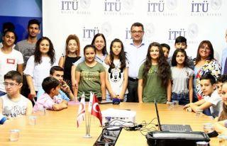Başbakanlık'tan İTÜ ile birlikte çocuklara ve...