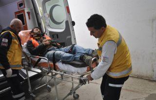 Ercan'da iş kazası