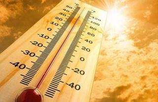 Hava sıcaklığı 32-35 derece dolaylarında