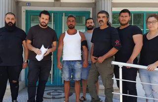 BY, Zeki Çeler'i siyah çelenkle protesto etti