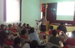 Tatlısu İlkokulu'nda kanser eğitimi