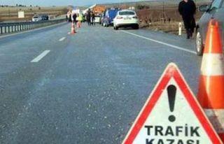 Bir haftada 69 trafik kazası