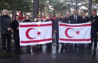 Eskişehir'de anma törenine katıldılar
