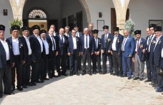 Gaziler 44 yıl sonra yine Kıbrıs'ta