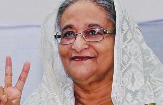 Bangladeş'te seçimleri üçüncü kez Şeyh Hasina...