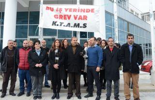 Girne'deki grev sona eriyor!