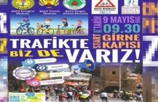 'Trafikte Biz De Varız' bisiklet sürüşü 9 Mayıs'ta