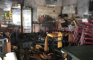 Suriçi'nde yangın: En az 100 bin TL'lik hasar var