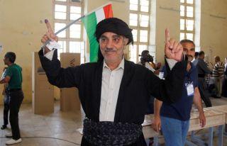 Iraklı Kürtler bağımsızlık için sandık başında