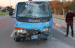 Van araçlar  kaza yaptı