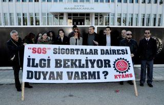 KTAMS'ın Girne'deki grevi devam ediyor
