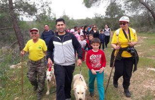 Çocuklara yönelik doğa yürüyüşü düzenlendi